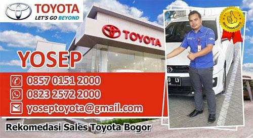 Sales Kijang Innova di Bogor